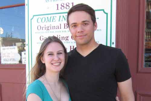 We got married in Tombstone Arizona