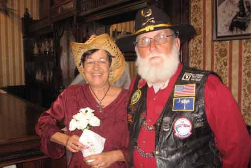 I just got married in Tombstone Arizona
