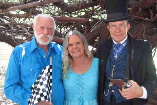 David and Joyce married in Tombstone AZ