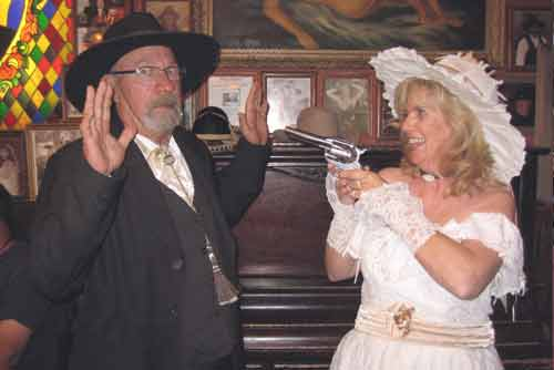 Shotgun Wedding in Tombstone?