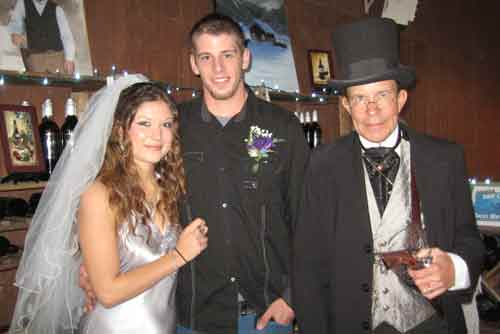Dr. Jay's Tombstone Weddings