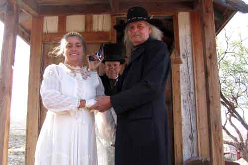 Married in Tombstone Arizona