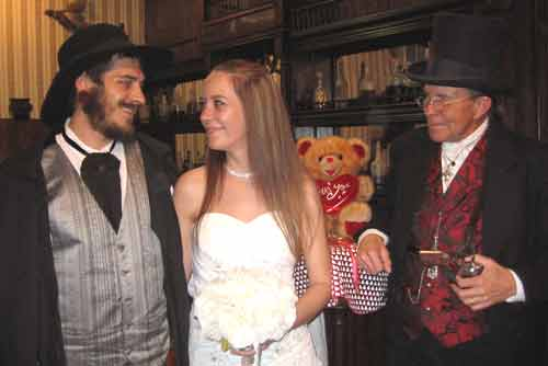 Get hitched in Tombstone