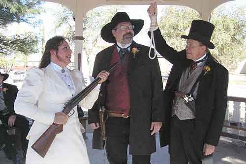Want to get married in Tombstone Arizona