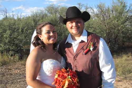 Western weddings in Tombstone Arizona