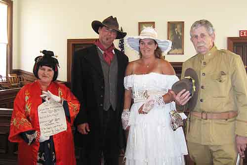 Hitched in Tombstone