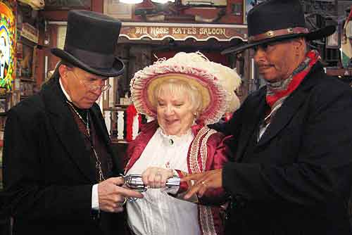 Married in Tombstone Arizona
